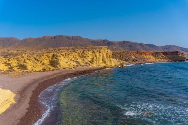mejores playas de Roquetas de mar